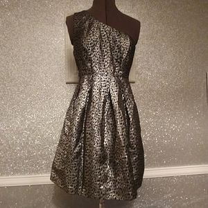 Forever 21 Dresses - Black & silver party dress